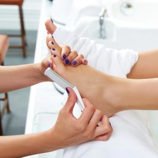 spa menicure and pedicure