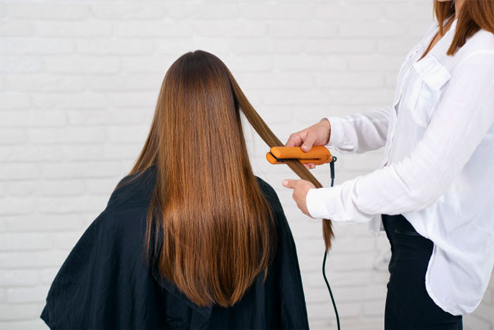 Keratin hair salon